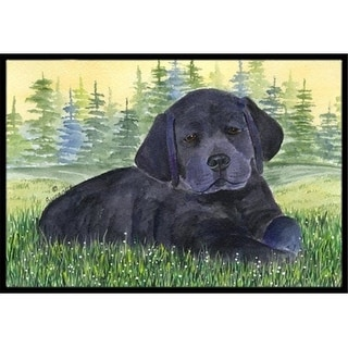 Carolines Treasures SS8343MAT 18 x 27 in. Labrador Indoor Outdoor Doormat