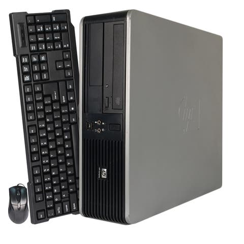 HP 7900 USFF C2D 4GB 80GB SSD Win 10 Home (Refurbished)