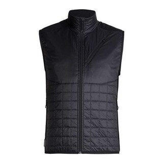 Icebreaker Men's Helix Insulated Vest Black/Jet Heather