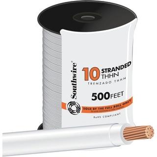 Southwire 500 10Str Wht Thhn Wire
