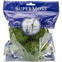"""Moss Balls 2.5"""" 3/Pkg-Green"""