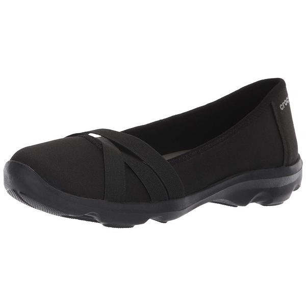6fb8fbded3 ... Women's Shoes; /; Women's Flats. Crocs Women's Busy Day Strappy  Flat