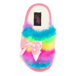 Slippers, Spa - Jojo Siwa Rainbow Size S, M, L & XL