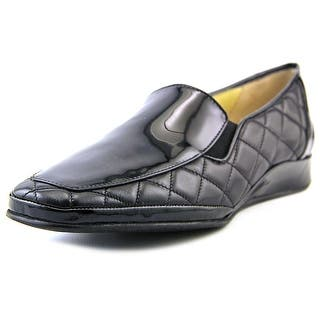 Amalfi By Rangoni Enrico Women SS Round Toe Leather Loafer|https://ak1.ostkcdn.com/images/products/is/images/direct/4410afc36fb663725236e9c12208604e3ef05c06/Amalfi-By-Rangoni-Enrico-Women-SS-Round-Toe-Leather-Black-Loafer.jpg?impolicy=medium