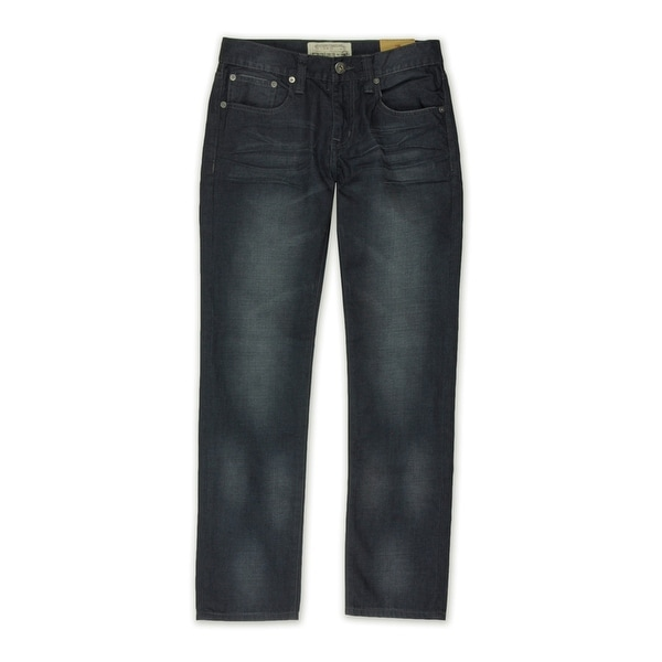 Ecko Unltd. Mens Cloak Wash- Denim Slim Fit Jeans, blue, 28W x 31L. Opens flyout.