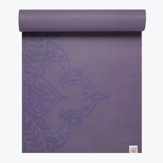 GAIAM Studio Select Sticky-Grip Yoga Mat (5MM) - Printed Purple
