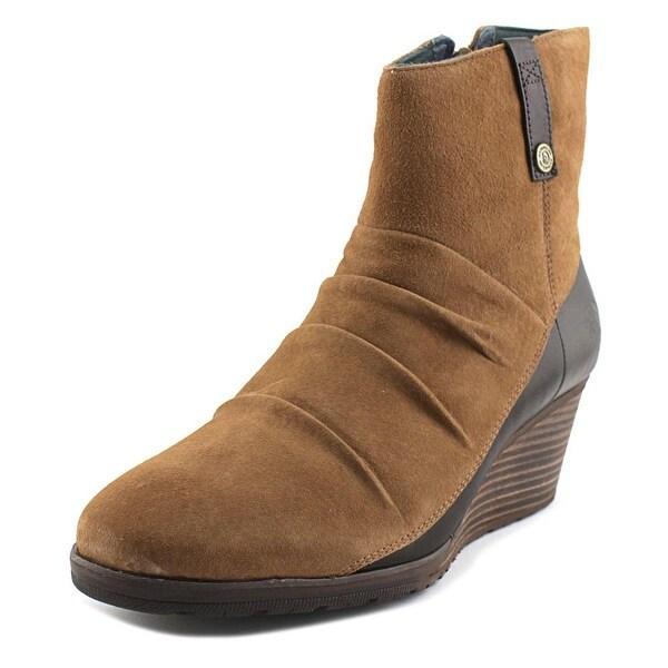 The North Face Bridgeton Wedge Zip Women Dachshund Brown/Darkest Spruce Boots