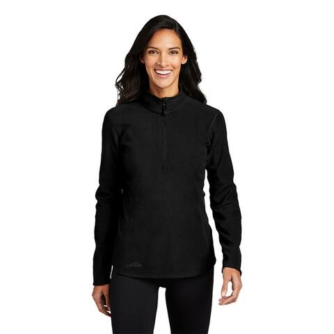 Eddie Bauer Women's 1/2-Zip Micro-fleece Jacket
