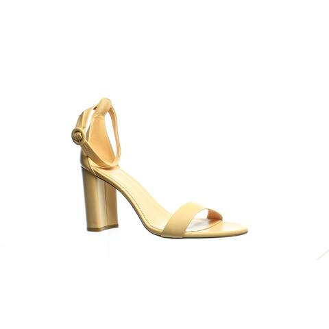 J.Crew Womens Stella Beige Stone Ankle Strap Heels Size 11