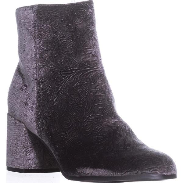 Indigo Rd. Crusona Ankle Booties, Dark Gray
