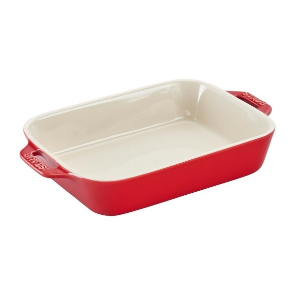 "Staub Ceramic 7.5"" x 6"" Rectangular Baking Dish"