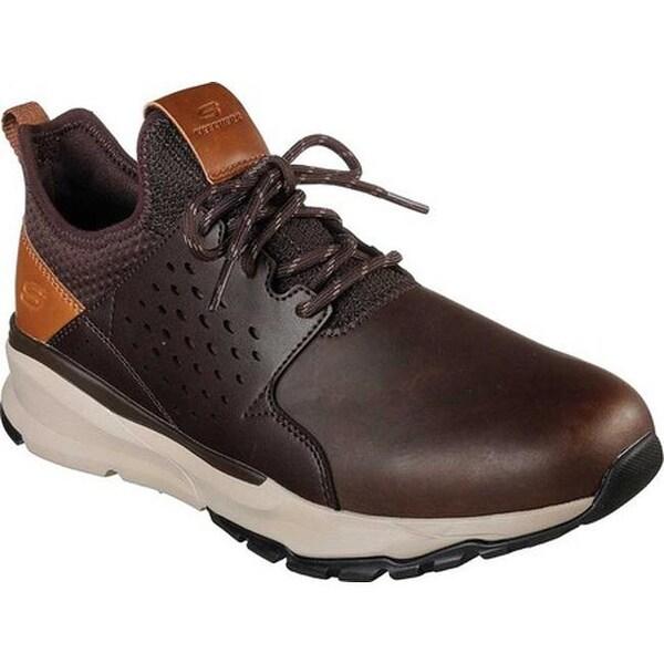 Skechers Men's Relven Hemson Sneaker Chocolate