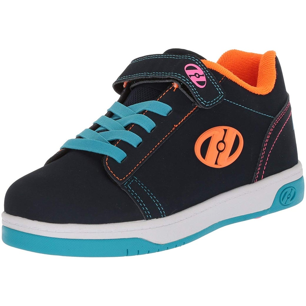 Heelys Girls 770997H Low Top Lace Up Fashion Sneaker Black Size 7 M US Big Kid