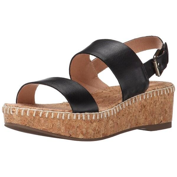 Corso Como Womens Sandy Open Toe Casual Platform Sandals