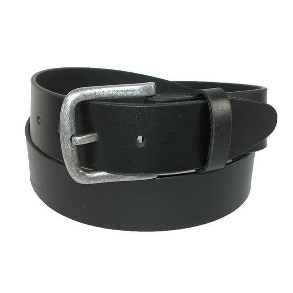 "Dickies Leather Belt Mens 1 3//8/"" Beveled Edge Bridle Belt w// Roller Buckle"