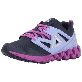 Kids Reebok Girls zigkick 2k17 Low Top Lace Up Running Sneaker