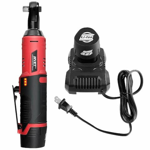 """Cordless 3/8"""" Electric 12V Ratchet Wrench Tool Set"""