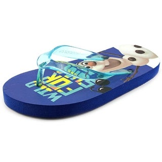 Disney Frozen Wild For Summer Open Toe Synthetic Flip Flop Sandal
