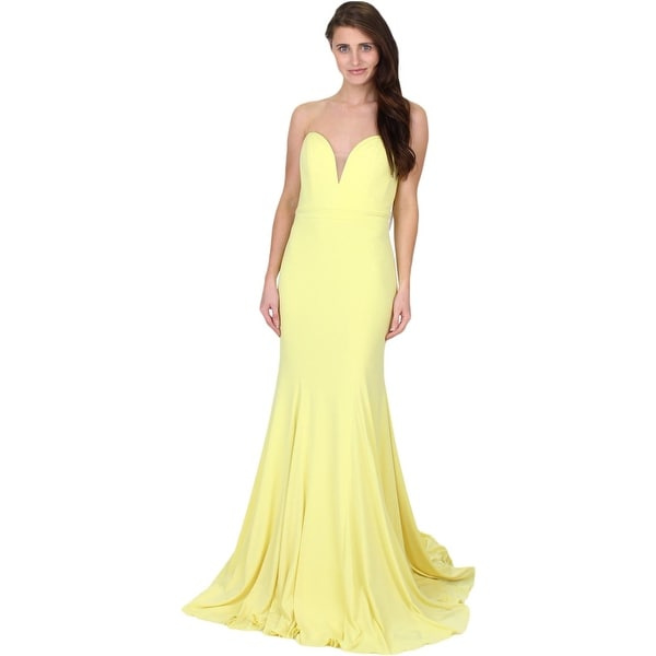1e814730de0 Shop Jovani 32801A Prom Strapless Evening Dress - On Sale - Free Shipping  Today - Overstock - 27079531
