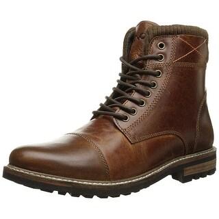 Crevo Men's Camden Fashion Boot, Chestnut Leather, 13 M Us