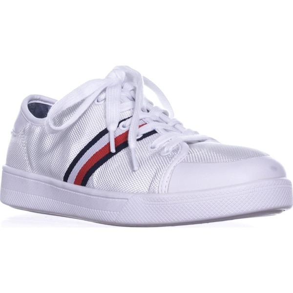 e605be13 Shop Tommy Hilfiger Spruce3 Lace Up Fashion Sneakers, White Multi ...