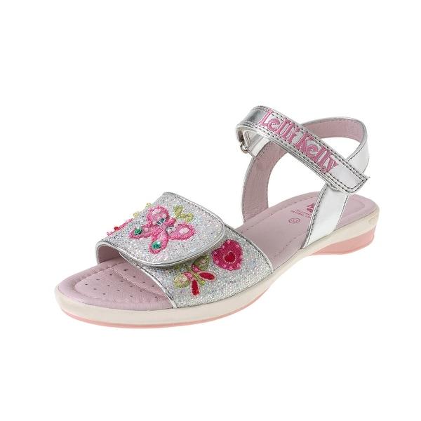 Lelli Kelly Girl's Alexandra Lk4472 Glitter Sandals