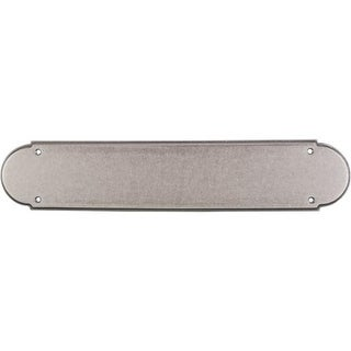 Top Knobs M905 Appliance Collection 15 Inch Pewter Antique Plain Push Plate