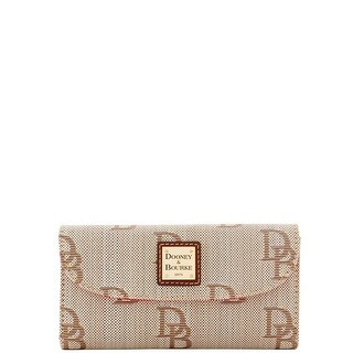 Dooney & Bourke Signature Jacquard Continental Clutch (Introduced by Dooney & Bourke at $118 in Oct 2016)