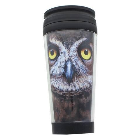 Owl 16oz Travel Mug w/ Lid - Multi