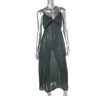 Denim & Supply Ralph Lauren Womens Chiffon Lace Trim Slip Dress - XS