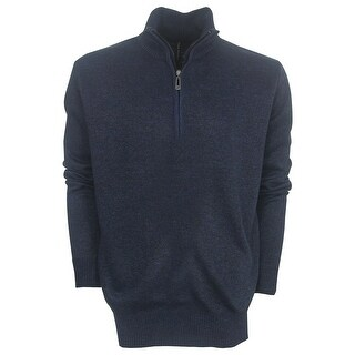 True Rock Men's Half-Zip Golf Sweater (Option: SAND - S)