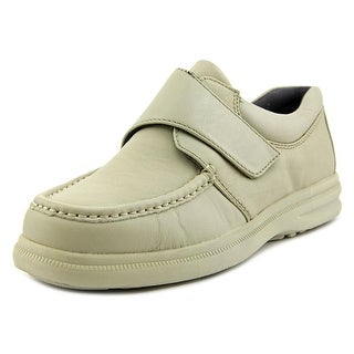 Hush Puppies Gil Men EW Moc Toe Leather White Loafer