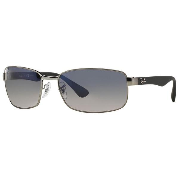2f0669a05a1 ... france ray ban rb3478 polarized rectangle sunglasses gunmetal gray blue  gradient gray 35fb8 b66c5