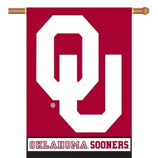 University of Oklahoma Sooners 2-Sided House Flag/Banner