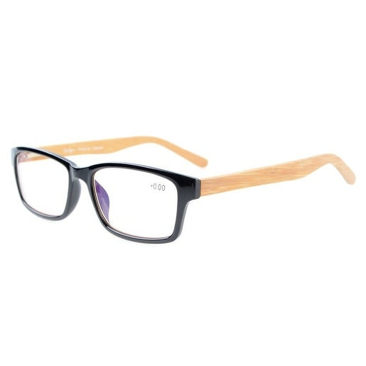ed5ae6eead6a Shop Eyekepper Readers Quality Spring Hinges Computer Reading Glasses Black  Amber Tinted Lenses+2.5 - Free Shipping On Orders Over  45 - Overstock - ...
