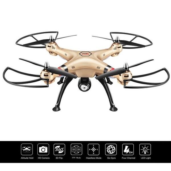 Costway Syma X8HW 2.4G 4CH WIFI FPV Gyro RC Quadcopter Drone HD Camera UAV RTF UFO