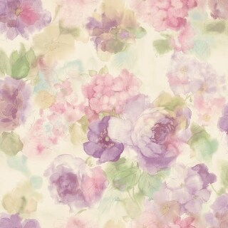 Brewster MEA79002 Winifred Pink Japanese Peony Wallpaper