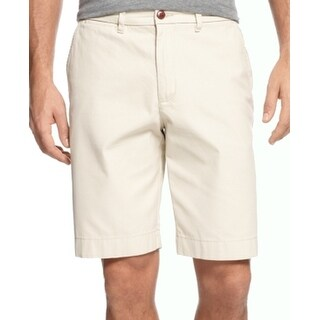 Tommy Hilfiger NEW Beige Sand Mens Size 30 Classic-Fit Chino Shorts