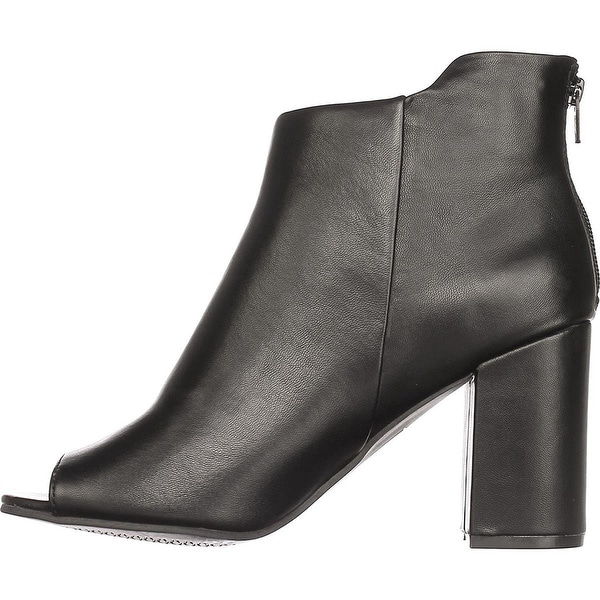 Seven Dials Womens TINSLEY Open Toe Ankle Fashion Boots
