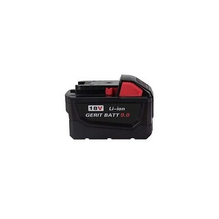 Replacement 9000mAh Battery for Milwaukee 2654-20 / 2721-22HD / 2763-22 Power Tools