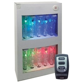 Brite Star 39-360-23 Color Changing LED Icicle Lights, 3.5 Watts