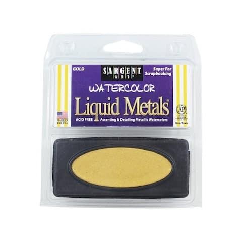Sargent art 668081 liquid metal watercolors gold