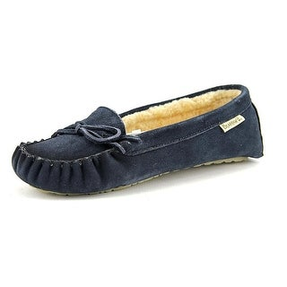 Bearpaw Womens Astrid Closed Toe Slip On Moccasins