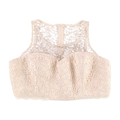 Sequin Hearts Womens Trendy Knit Blouse, pink, 18W