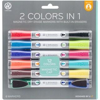 Assorted -Dry Erase Marker 6/P