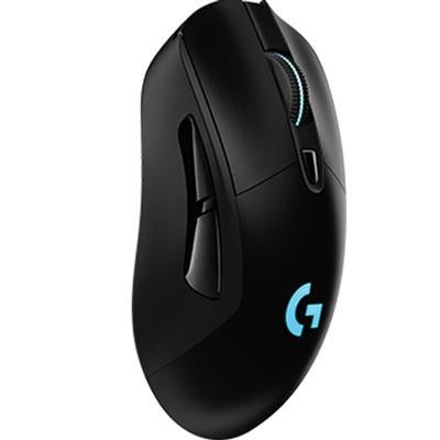 Logitech 910-005091 G703 Lightspeed Optical Wireless Gaming Mouse In Black