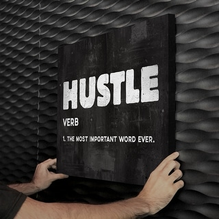 IKONICK Hustle Canvas Art