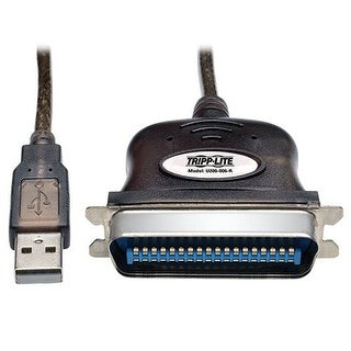 Tripp Lite - Usb To Parallel Printer Cable (Usb-A To Centronics 36-M) 6-Ft.