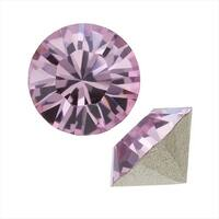 Swarovski Crystal, 1088 Xirius Round Stone Chatons ss29, 12 Pieces, Lt Amethyst
