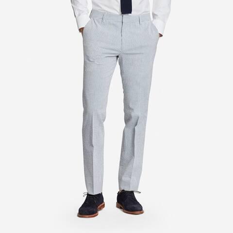 Bonobos The Jetsetter Cotton Suit Pants, Blue/White, 33X32